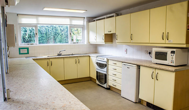 Kitchen at Biddenden Village Halls