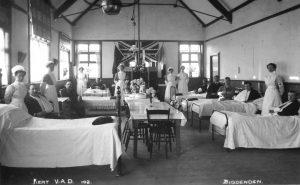 Biddenden Village Hall as hospital