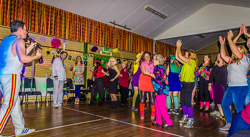 Disco at Biddenden Village halls